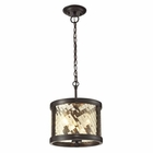 ELK Chandler Collection 3 Light Pendant in Oil Rubbed Bronze EK-31451-3
