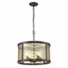 ELK Chandler Collection 4 Light Pendant in Oil Rubbed Bronze EK-31452-4