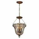 ELK Cheltham 3 Light Pendant in Mocha EK-46021-3