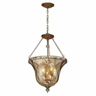 ELK Cheltham 4 Light Pendant in Mocha EK-46022-4