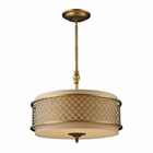 ELK Chester 4-Light Pendant in Brushed Antique Brass EK-31033-4