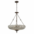 ELK Christina 6 Light Pendant in Mocha EK-12025-6