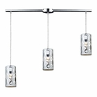 ELK Chromia 3-Light  Pendant in Polished Chrome EK-31076-3L