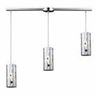 ELK Chromia 3-Light Pendant in Polished Chrome EK-31077-3L
