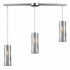 ELK Chromia 3-Light Pendant in Polished Chrome EK-31078-3L