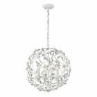 ELK Circeo Collection 4 Light Pendant in Antique White EK-18124-4