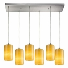 ELK Coletta 6 Light Pendant in Satin Nickel EK-10169-6RC