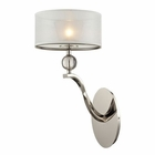 ELK Corisande 1 Light Sconce in Polished Nickel EK-31290-1