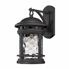 ELK Costa Mesa 1 Light Outdoor Wall Lantern in Weathered Charcoal EK-45111-1