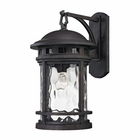 ELK Costa Mesa 1 Light Outdoor Wall Lantern in Weathered Charcoal EK-45112-1