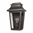 ELK Covina 1 Light Outdoor Sconce in Matte Black EK-46190-1