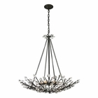 ELK Crystal Branches 8 Light Pendant in Burnt Bronze EK-11773-8
