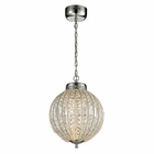 ELK Crystal Sphere Collection Led Pendant in Polished Chrome EK-11729-LED