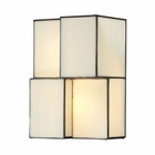 ELK Cubist Collection 2 Light Sconce in Brushed Nickel EK-72060-2