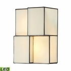 ELK Cubist Collection 2 Light Sconce in Brushed Nickel - Led EK-72060-2-LED