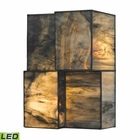ELK Cubist Collection 2 Light Sconce in Brushed Nickel - Led EK-72070-2-LED