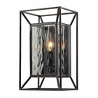 ELK Cubix 1 Light Sconce in Oiled Bronze EK-14120-1