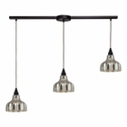 ELK Danica 3 Light Pendant in Oiled Bronze EK-46008-3L