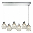 ELK Danica 6 Light Pendant in Polished Chrome EK-46017-6RC