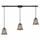 ELK Darien 3 Light Pendant in Oiled Bronze EK-46000-3L