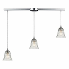 ELK Darien 3 Light Pendant in Polished Chrome EK-46010-3L