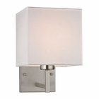 ELK Davis Collection 1 Light Sconce in Brushed Nickel EK-17160-1