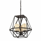 ELK Delaney 3 Light Pendant in Oil Rubbed Bronze EK-31186-3