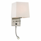 ELK Derringer Collection 2 Light Sconce in Brushed Nickel EK-17155-2