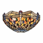 ELK Dragonfly Collection 1 Light Sconce in Dark Bronze EK-72077-1