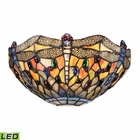 ELK Dragonfly Collection 1 Light Sconce in Dark Bronze - Led EK-72077-1-LED