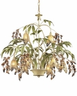 ELK Eight Light Chandelier Huarco EK-86054