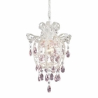 ELK Elise 1-Light Pendant in Antique White EK-12008-1