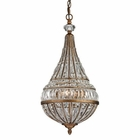 ELK Empire Collection 3 Light Pendant in Mocha EK-46046-3