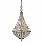 ELK Empire Collection 6 Light Pendant in Mocha EK-46047-6