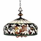 ELK English Ivy 6/1 Light Pendant in Tiffany Bronze EK-715-TB