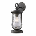ELK Farmstead 1-Light Outdoor Sconce in Matte Black EK-43016-1