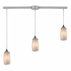 ELK Favelita 3 Light Pendant in Satin Nickel EK-10223-3L-COC