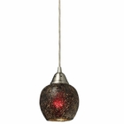 ELK Fission 1-Light Wine Pendant in Satin Nickel - Led EK-10208-1WN-LED