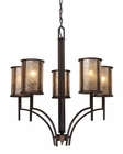 ELK Five Light Chandelier Barringer EK-15035