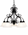 ELK Five Light Chandelier Buckingham EK-245