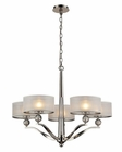 ELK Five Light Chandelier Corisande EK-31293