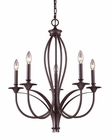 ELK Five Light Chandelier Medford EK-61032