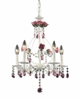 ELK Five Light Chandelier Rosavita EK-4054