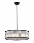 ELK Five Light Pendelier Braxton EK-10329