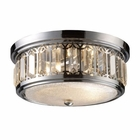 ELK Flush Mount 2-Light in Polished Chrome EK-11226-2