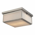 ELK Flushmounts 2 Light Flushmount in Brushed Nickel EK-11464-2