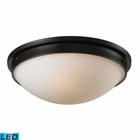 ELK Flushmounts 2 Light Flushmount in - Led EK-11451-2-LED