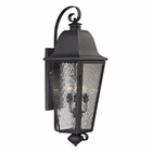 ELK Forged Brookridge Collection 4 Light Outdoor Sconce in Charcoal EK-47103-4