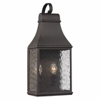 ELK Forged Jefferson Collection 2 Light Outdoor Sconce in Charcoal EK-47071-2