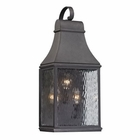 ELK Forged Jefferson Collection 3 Light Outdoor Sconce in Charcoal EK-47072-3